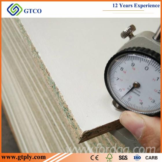 Waterproof White Melamine Laminated Particle Board For