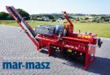 Maszyny Leśne - Łuparka - piła JAPA 700 do rozczepiania drewna, z taśmociągiem, do drewna opałowego