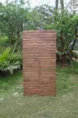 Vietnam Garden Products - Vertical Hardwood Slat Screen HMG103-3006