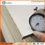 Warm White Melamine Laminated MDF/ Particle Board For Kitchen Cabinets