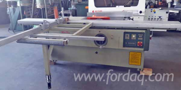 Used SCM Minimax S300W 1997 Circular Saw For Sale Italy