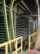 平面胶合板印刷机 Valette & Garreau 1800x3100 二手 意大利