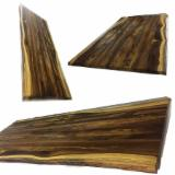 Edge Glued Panels - Table Top - Walnut Solid Wood Panels, 26-40 mm Thick