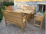 Offers Bulgaria - Siberian Larch Garden Tables With Chairs