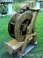 Decoration a Mill Wheel For Garden