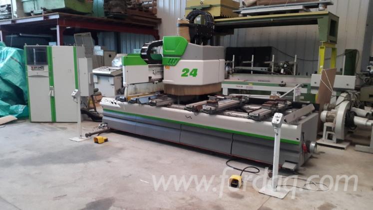 Vand-CNC-Centru-De-Prelucrare-BIESSE-Rover-24-S-Second-Hand