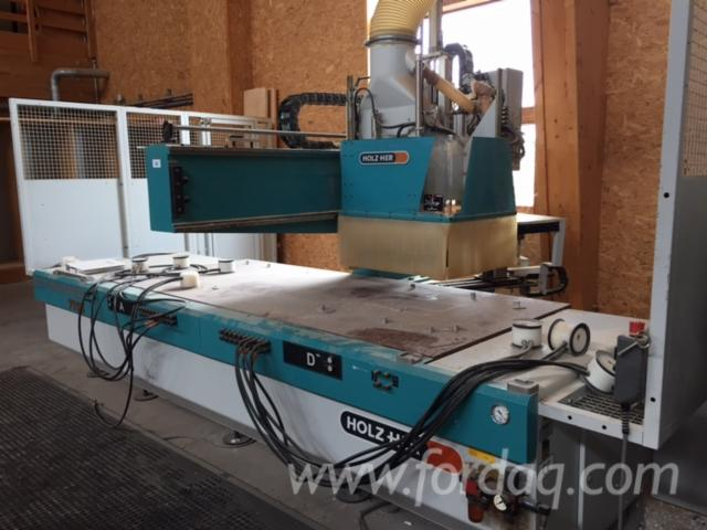 Used-HOLZHER-7113-CNC-Machining-Center-For-Sale
