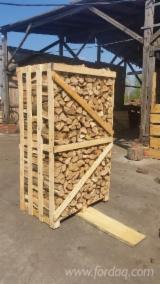 Firewood, Pellets And Residues Kindlings Fire Starter Wood - Oak Firewood, Seasoned, 25 cm long