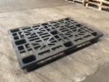 Pallet - Imballaggio in Vendita - Pallet usati in plastica 800x1200 portata max 500 kg in ottime condizioni, ben selezionati