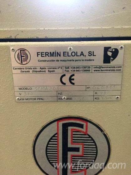 Wielopiła do płyt wiórowych i MDF Fermin Elola SCMA 2050