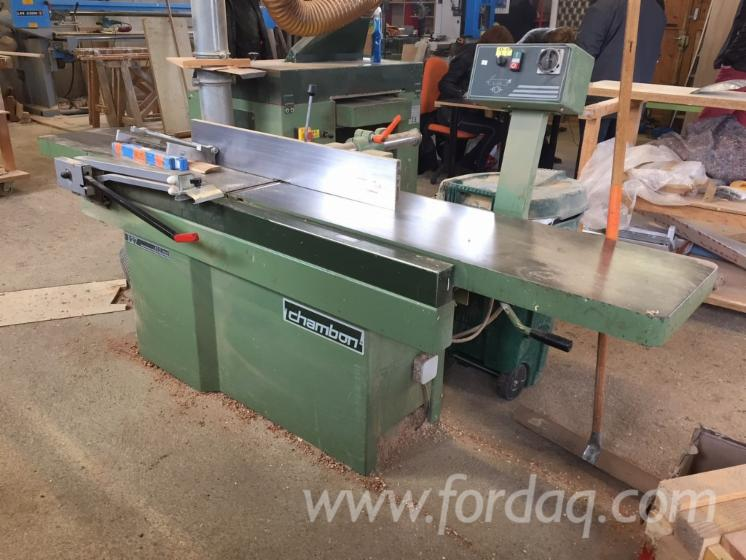Used-CHAMBON-D127-Surface-Planer---1-Side-For-Sale