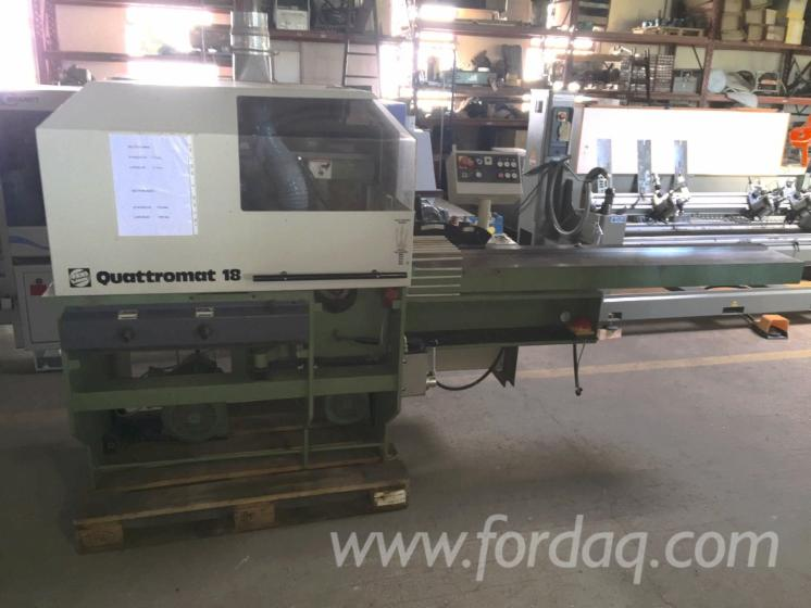 Used-WEINIG-Quattromat-18-Moulding-Machines-For-Three--And-Four-side-Machining-For-Sale