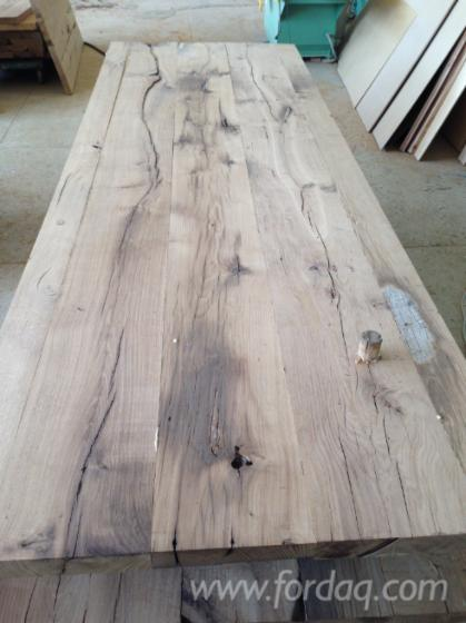 Reclaimed Oak Table Tops - Reclaimed oak table top