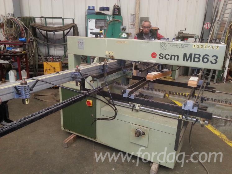 Perceuse multiple SCM MB63