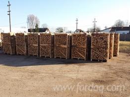 Dry firewood beech, oak, hornbeam