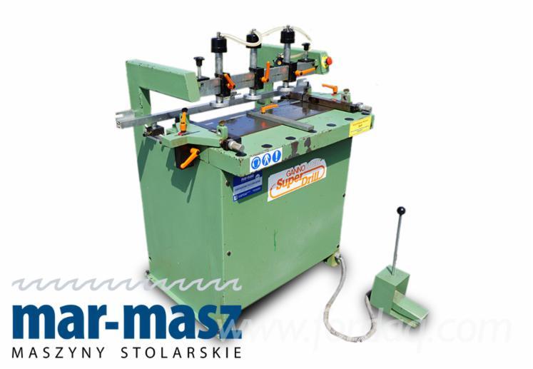 GANNO MAT 300 multi-spindle drilling machine, dowel hole drilling machine, furniture making machine