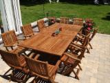 Teak Garden Furniture - Teak garden furniture sets: tables and chairs