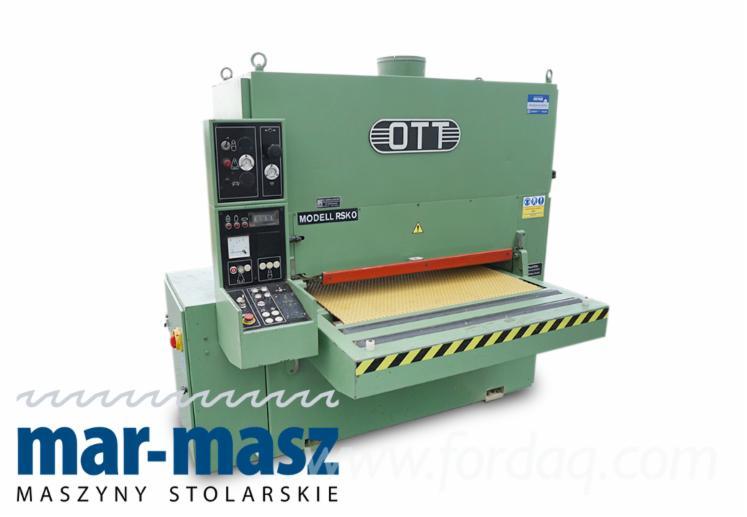 Used-OTT-RSK-0-110-Wide-Belt-Sander-For