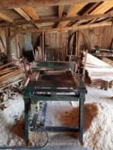 Double Blade Log And Timber Saw - Used -- Double Blade Log And Timber Saw For Sale Romania
