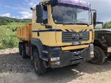 Camion - MAN basculant camion Taf 6x6