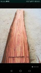 Tranchage Espagne - Vend Placage Naturel African Rosewood, Copalier De Rhodésie Dosse, Figuré