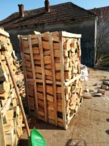 Serbien  Vorräte - Buche Brennholz Gespalten