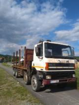 Short Log Truck - Used DAF Short Log Truck Romania