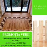 Solid Wood Flooring - -- mm Oak Parquet S4S Romania