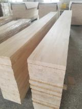 Softwood  Sawn Timber - Lumber - Paulownia finger joint board