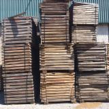 Softwood  Unedged Timber - Flitches - Boules For Sale - Maritime Pine  Loose 13 - 20 mm Portugal