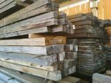 Construction Round Beams - Oak planks, beam, ash planks