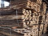 Hardwood  Unedged Timber - Flitches - Boules For Sale - Oak Loose from Poland, Pomorskie