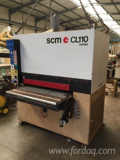 Used-SCM-Sandya-Cl110-Belt-Sander-For-Sale