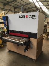 Gebraucht SCM Sandya Cl110 Schleifmaschinen Mit Schleifband Zu Verkaufen Frankreich