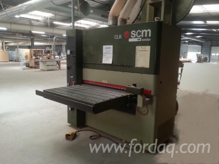 Used-SCM-CL110-RT-Belt-Sander-For-Sale