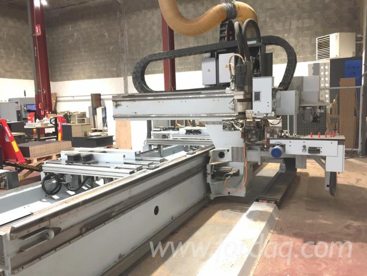 Used-HOMAG-BAZ-222-40K-Optimat-Machinining-Centre-For-Routing--Sawing--Boring