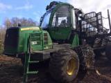 森林及采伐设备 - 货运代理 John Deere 1210E 二手 2009 拉脱维亚