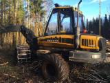 森林及采伐设备 - 收割机 Ponsse Beaver 二手 2012 拉脱维亚