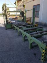 Деревообробне Устаткування - Верстат Для Розпилювання Піддоних Блоків TAGLIAPACCHI 120x120 Б / У Італія