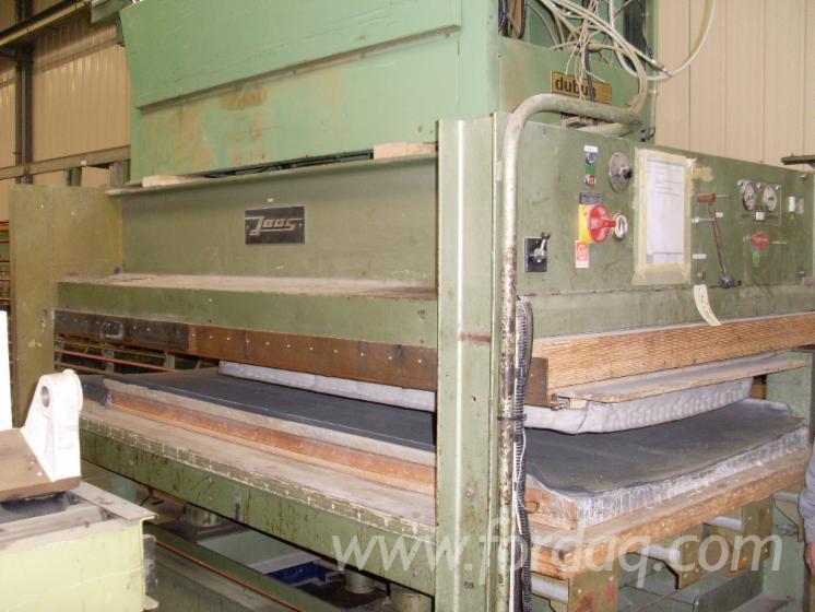 Gebraucht-JOSS-Handbeschickte-Furnierpresse-F%C3%BCr-Ebene-Fl%C3%A4chen-Zu-Verkaufen