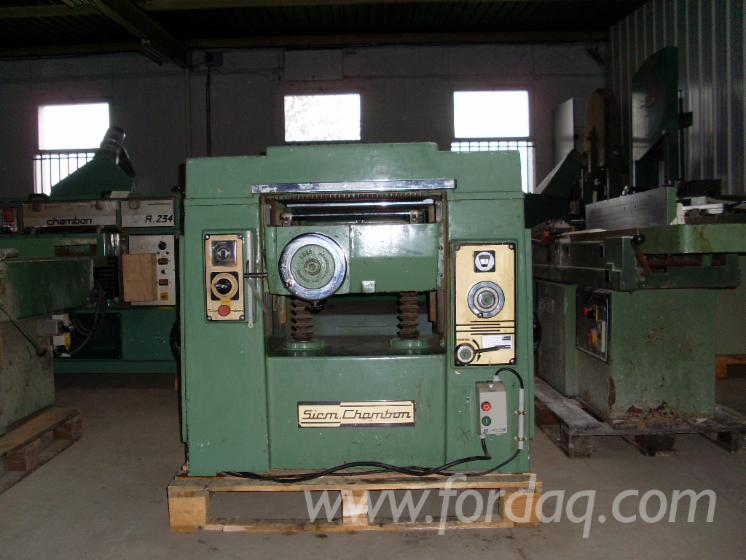 Used-CHAMBON-R520-Thicknessing-Planer--1-Side-For-Sale