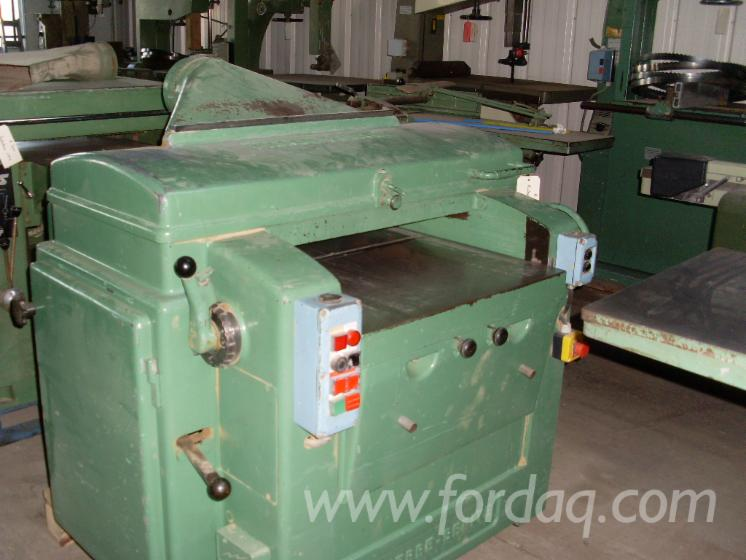 Used-PIERRE-BENITE-Thicknessing-Planer--1-Side-For-Sale