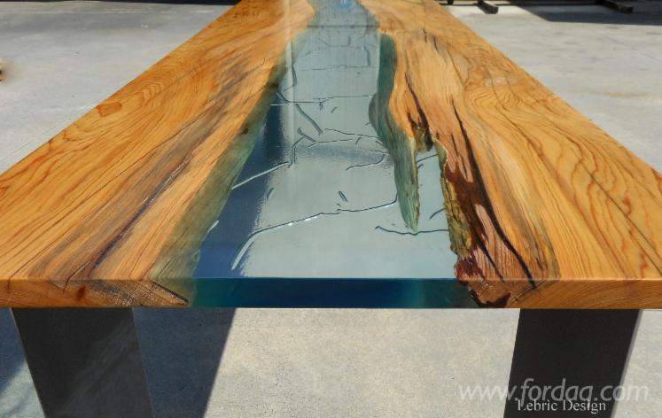 Tavoli in legno e resina for Tavolo resina epossidica