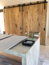 Mouldings and Profiled Timber - Panels for Cladding in Antique Wood