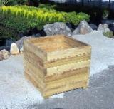 Flower Pot - Planter for sale. Wholesale exporters - Acacia Flower Pot - Planter from Spain