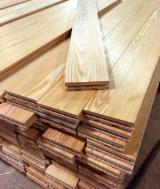 Groothandel Hardhout Vloeren Koop En Verkoop Houten Vloeren - Siberische Conifeer, Massief Houten Vloeren S4S-Lamellen