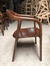 Black Walnut Living Room Furniture - Heva, Black Walnut Chair