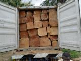 森林及原木 非洲 - 方形原木, 缅茄(苏)木