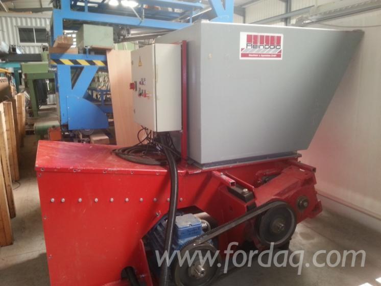 Gebraucht-REINBOLD-AZR-K800-Altholzbrecher-Zu-Verkaufen