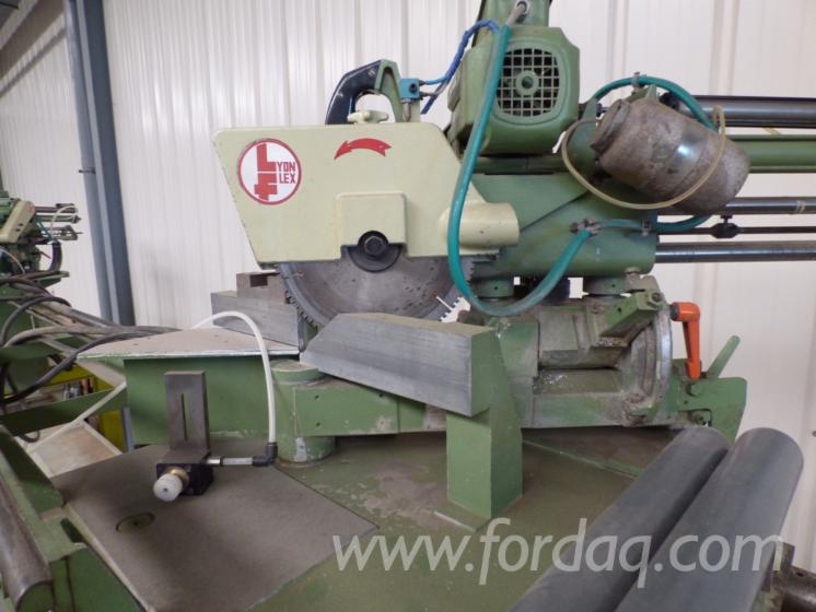 Used-Lyon-Flex-Stap-302-Double-And-Multi-Blade-Saws-For-Sale